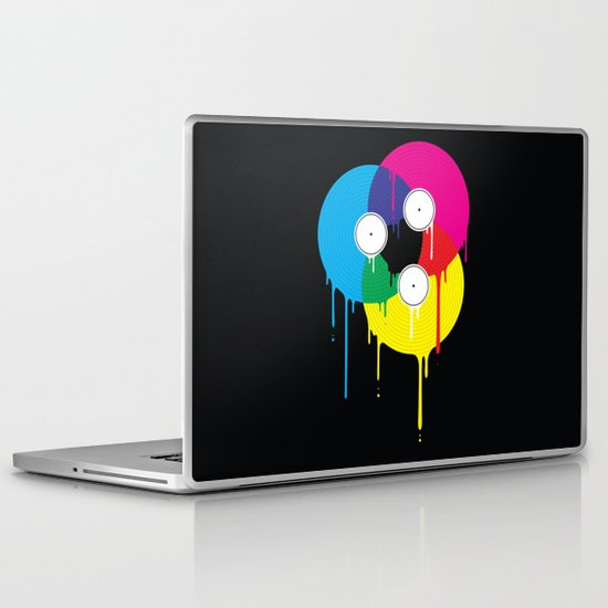 Melting Vinyl Laptop & iPad Skin