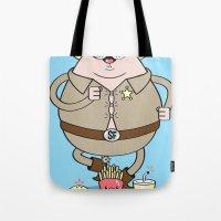 Sherif Fatman and Fast Food Tote Bag
