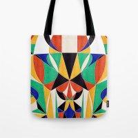 Describe Yourself in 5 Colors Tote Bag