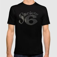Society 6 Wheel T - S6 Tee Mens Fitted Tee Black SMALL