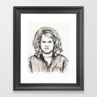 PHILIP BOURNE IS ROLLING… Framed Art Print