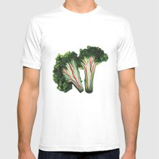 broccoli Mens Fitted Tee White SMALL