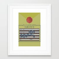 Hayes Framed Art Print
