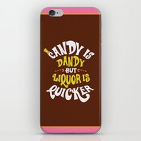 Candy is dandy iPhone & iPod Skin