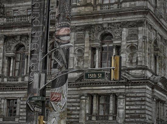 Fifteenth Street  Glasgow  Art Print