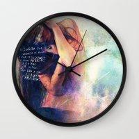 Blindness Wall Clock