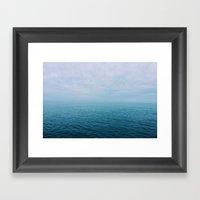 The Endless Sea Framed Art Print