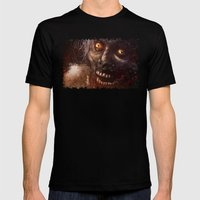 Brains! Mens Fitted Tee Black SMALL