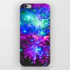 Fox Fur Nebula Galaxy iPhone & iPod Skin
