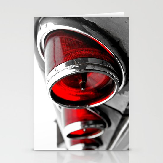 Impala taillights Stationery Card