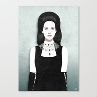 Dark Paradise | LDR VI Canvas Print