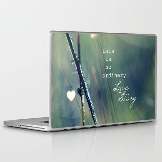 No Ordinary Love Story Laptop & iPad Skin