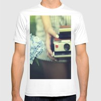 Color Mens Fitted Tee White SMALL