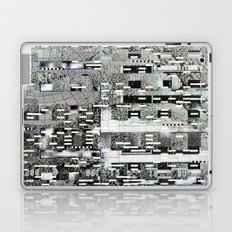 Highly Resolved Ghost (P/D3 Glitch Collage Studies) Laptop & iPad Skin