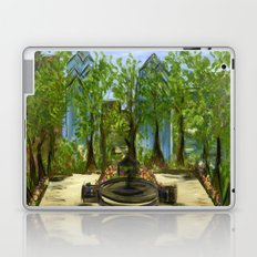 Rittenhouse Square in the Spring Laptop & iPad Skin