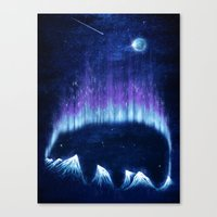 The Alaskan Grizzly Canvas Print