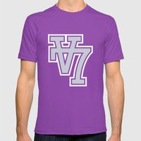V7 Mens Fitted Tee Ultraviolet SMALL