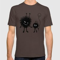 Evil Flower Bug Mother's… Mens Fitted Tee Brown SMALL