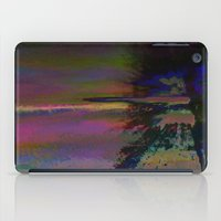 19-46-12 (Black Hole Gli… iPad Case