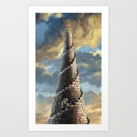 TOWER OF MABEL Art Print