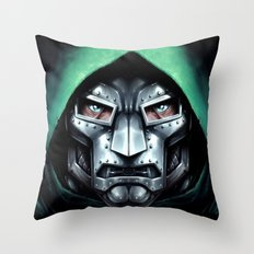 Doctor Doom Throw Pillow