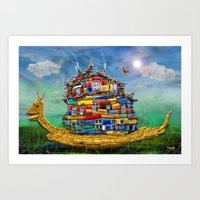 My Sweet Home Art Print
