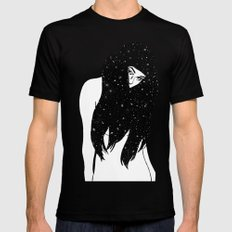 The Universe Within SMALL Mens Fitted Tee Black