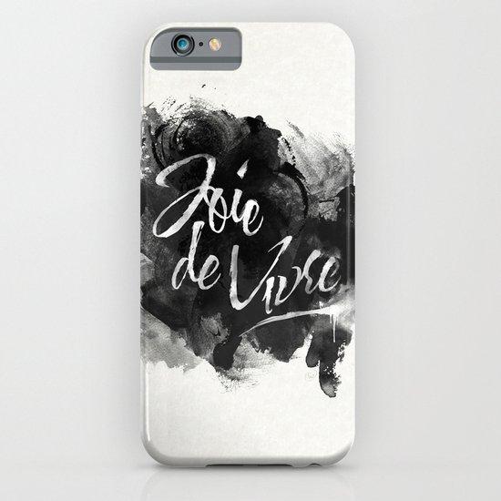 Joie De Vivre iPhone & iPod Case