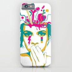 Liquid thoughts:Girl iPhone 6s Slim Case