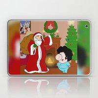 Santa Claus came to town! Laptop & iPad Skin