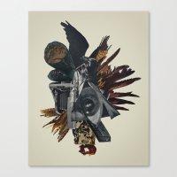Burn In Self Effigy Canvas Print