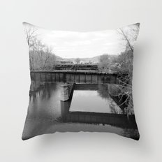 Absent Throw Pillow