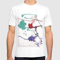 rgb Mens Fitted Tee White SMALL