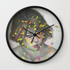 Colours 02 Wall Clock