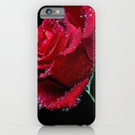Beaded Red Rose iPhone 6 Slim Case
