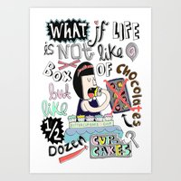 What If Life Is Not Like… Art Print