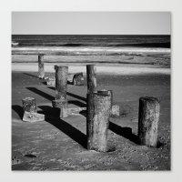 Belmar Beach. Canvas Print