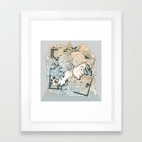 BROKEN FRAMES Framed Art Print