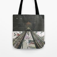 Everything I Need Is Whe… Tote Bag