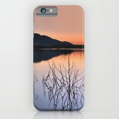 Sunset on the calm lake iPhone 6s Slim Case