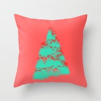 Wish You A Merry Christm… Throw Pillow
