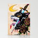 The Wolf and Dagger Stationery Cards