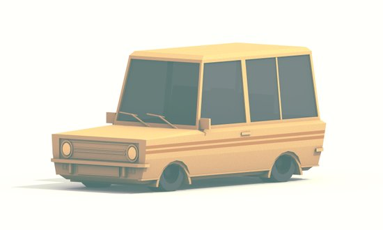 SUV Art Print