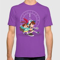 Pine Twins Mens Fitted Tee Ultraviolet SMALL