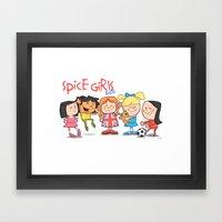 Spice Girls Kids Framed Art Print