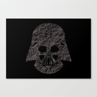 Lines Of Vader Canvas Print