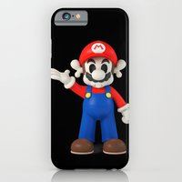 Skull Mario iPhone 6 Slim Case