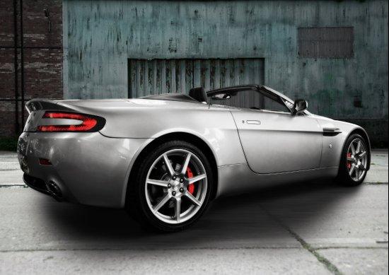 Aston Martin Vantage Art Print