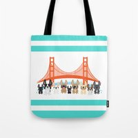 Bay Area Frenchies Tote Bag