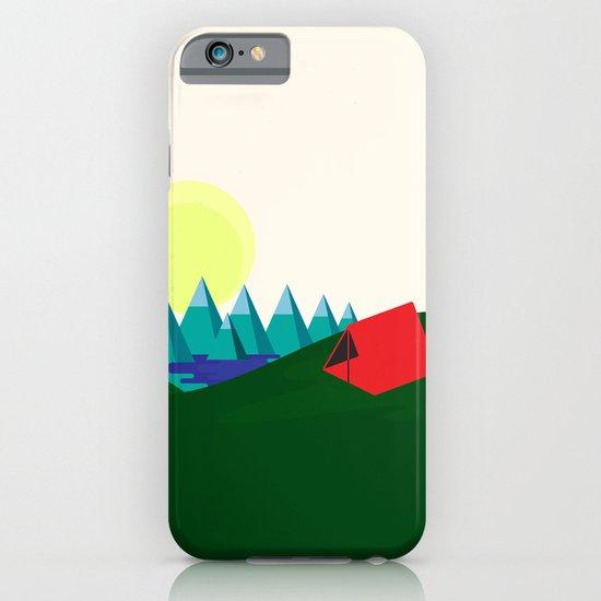 Camping is fun! iPhone & iPod Case